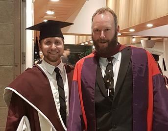 Brad Graduation