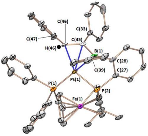FcPPB to vinylborane